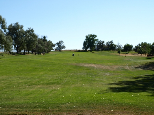 Hole #1 at Thermopolis Golf Course