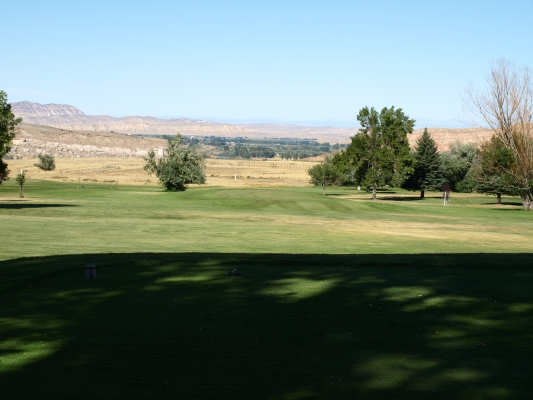Thermopolis, Wyoming Golf Course Hole #8